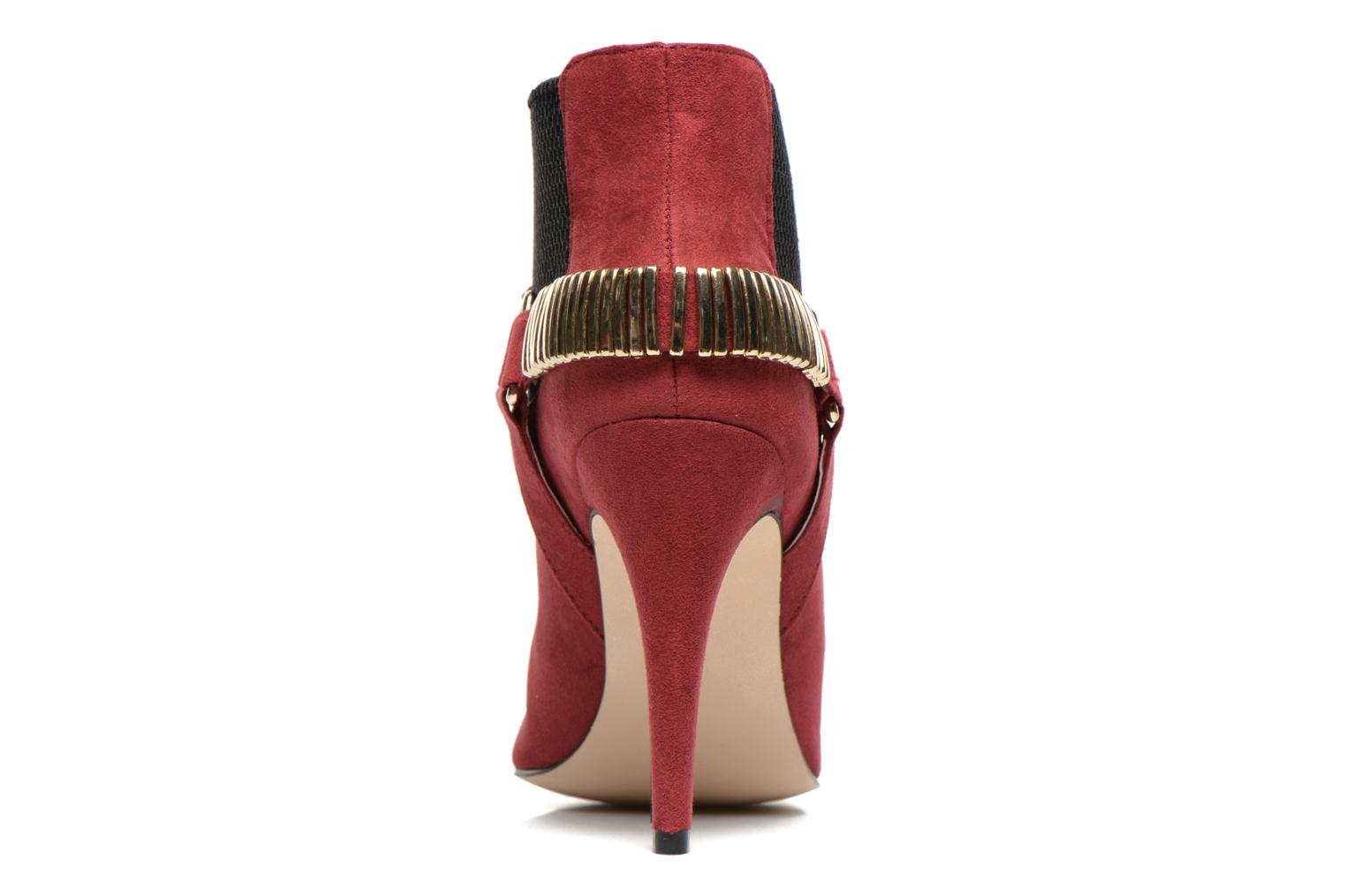 Ankle boots La Strada BMtrissa Red view from the right
