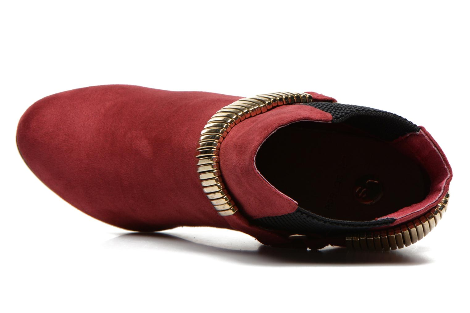 Ankle boots La Strada BMtrissa Red view from the left