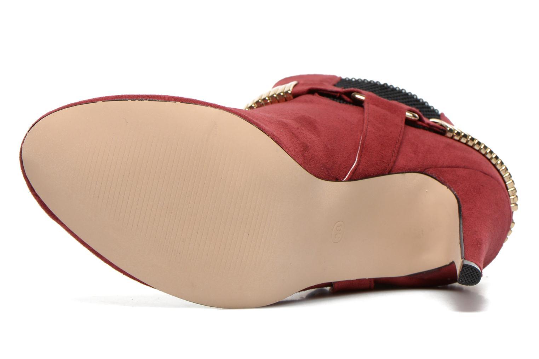 Bottines et boots La Strada BMtrissa Rouge vue haut