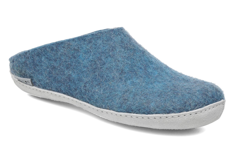 Hausschuhe Glerups Piras W blau detaillierte ansicht/modell