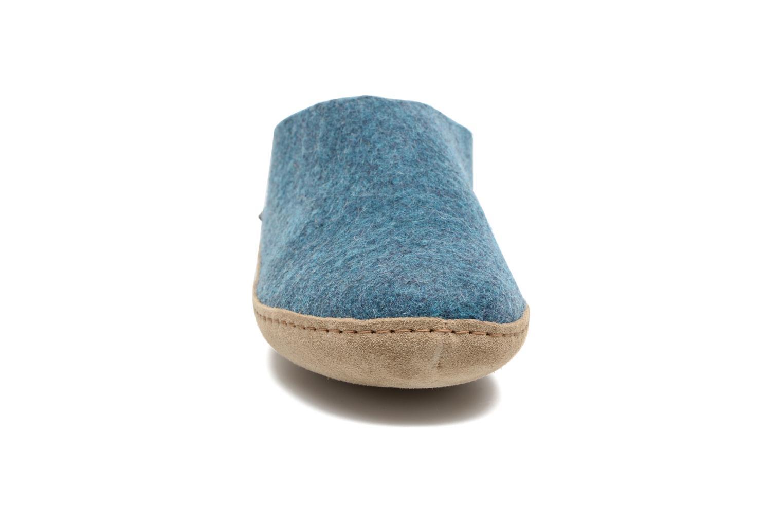 Slippers Glerups Piras W Blue model view