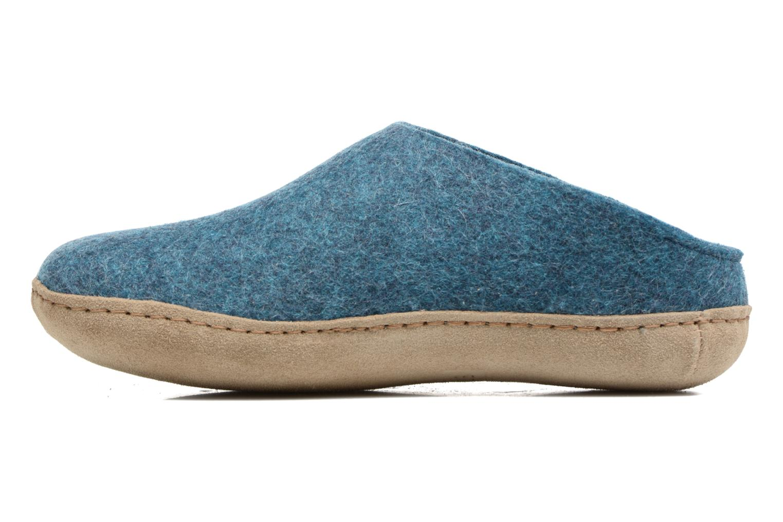 Slippers Glerups Piras W Blue front view