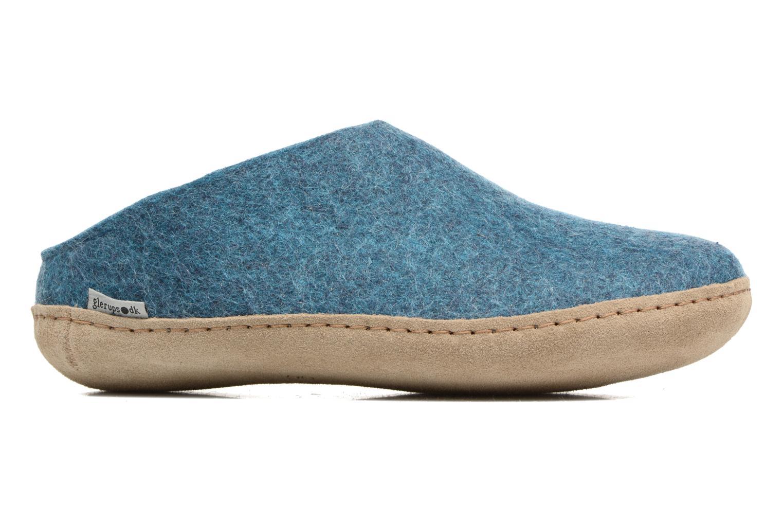 Slippers Glerups Piras W Blue back view