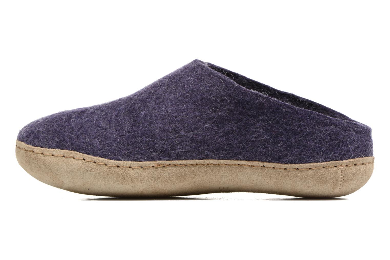 Slippers Glerups Piras W Purple front view