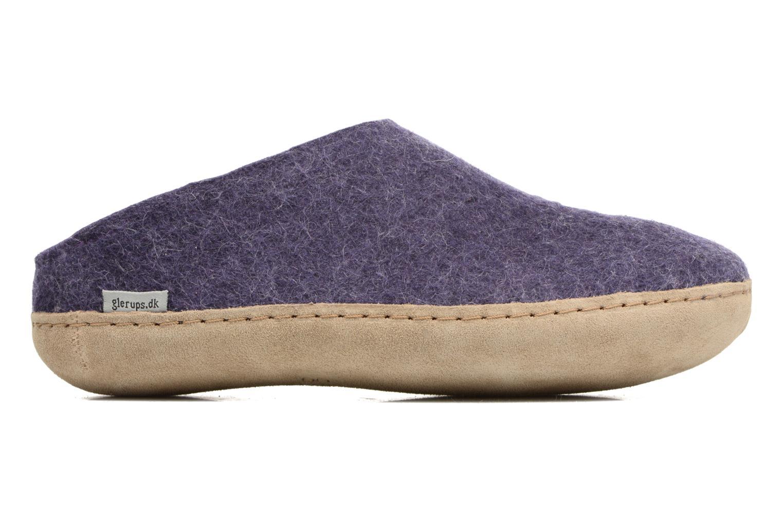 Slippers Glerups Piras W Purple back view