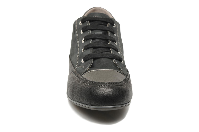 Baskets Geox D NEW MOENA A Noir vue portées chaussures