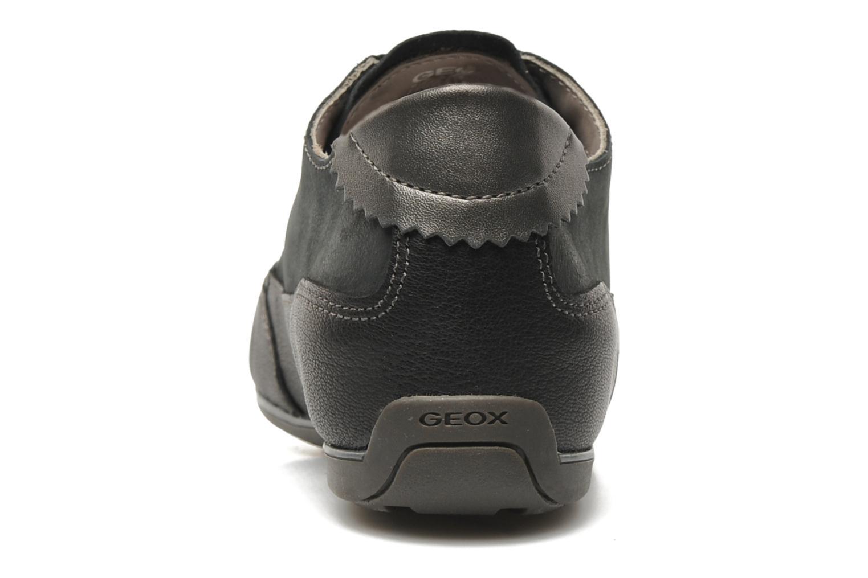 Sneaker Geox D NEW MOENA A schwarz ansicht von rechts