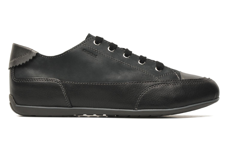 Sneaker Geox D NEW MOENA A schwarz ansicht von hinten