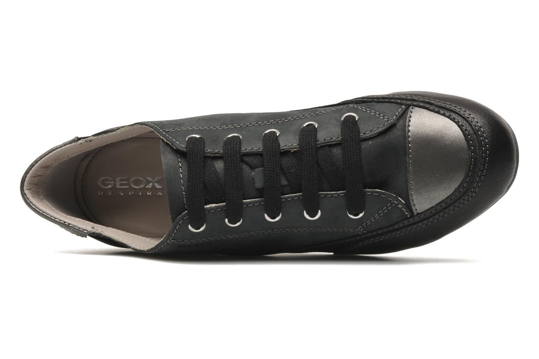 Sneaker Geox D NEW MOENA A schwarz ansicht von links