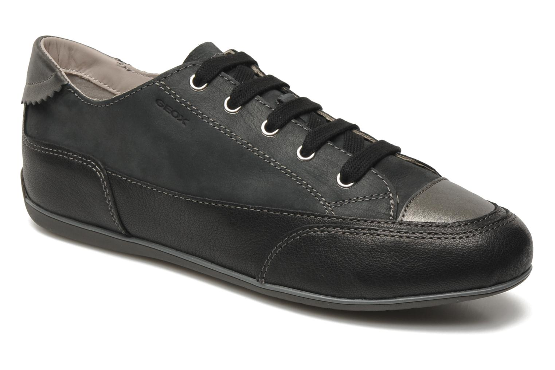 Sneaker Geox D NEW MOENA A schwarz detaillierte ansicht/modell