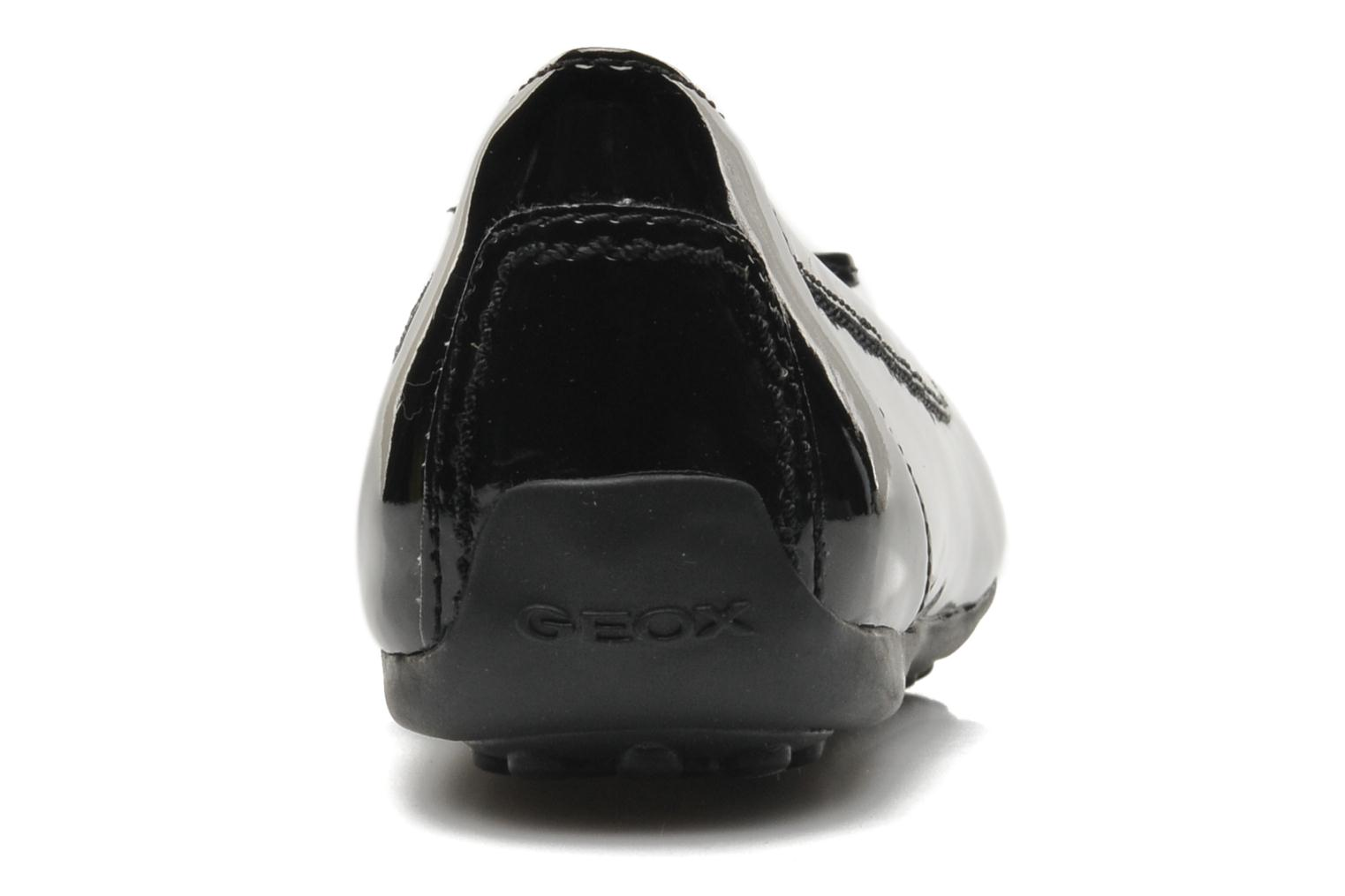 Ballet pumps Geox D PIUMA BAL H D34D8H Black view from the right