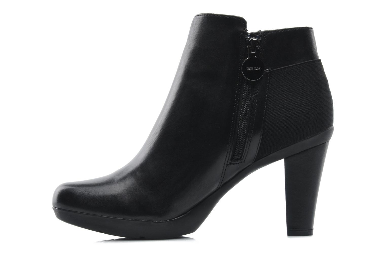 Ankle boots Geox D INSPIRAT.ST. D34G9A Black front view