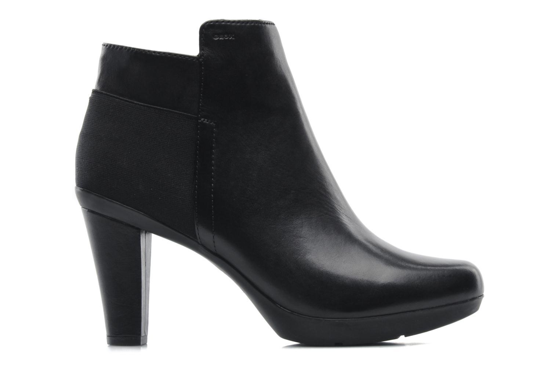 Bottines et boots Geox D INSPIRAT.ST. D34G9A Noir vue derrière