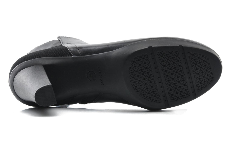 Bottines et boots Geox D INSPIRAT.ST. D34G9A Noir vue haut