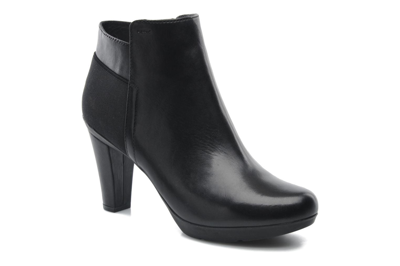 Bottines et boots Geox D INSPIRAT.ST. D34G9A Noir vue détail/paire