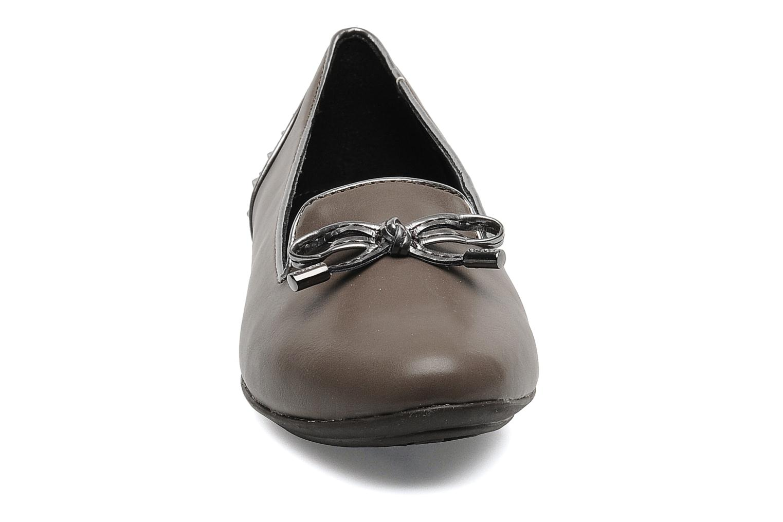 Mocassins Geox D CHARLENE K Marron vue portées chaussures