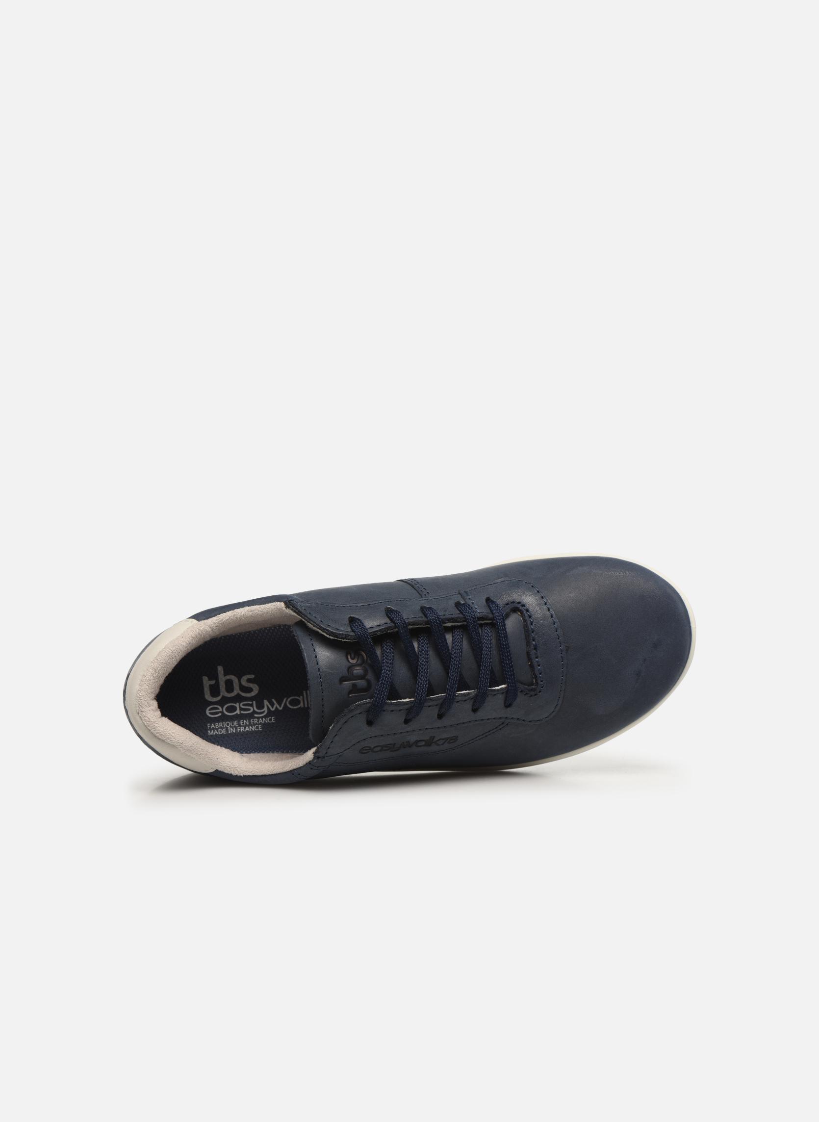 Sneaker TBS Easy Walk Anyway blau ansicht von links