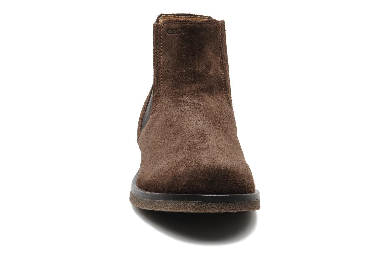 Boots en enkellaarsjes Geox U CLAUDIO G Bruin model