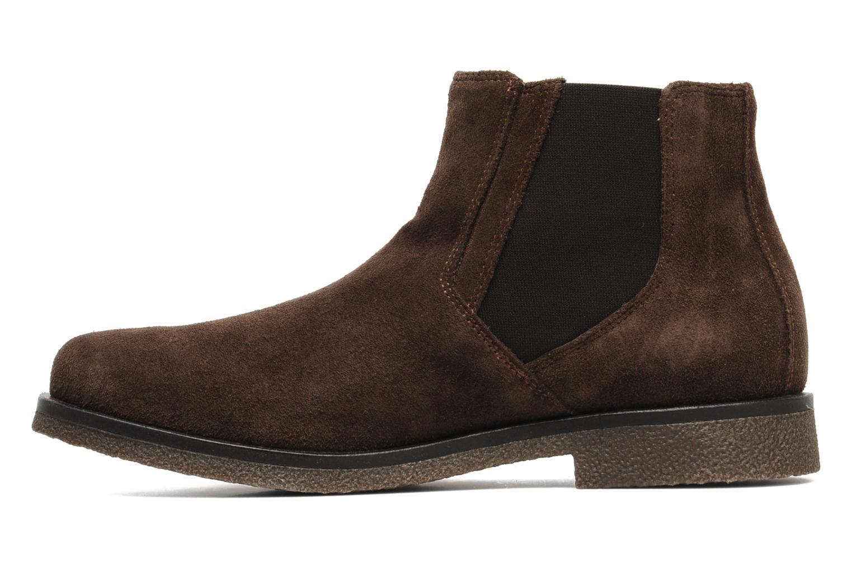 Boots en enkellaarsjes Geox U CLAUDIO G Bruin voorkant