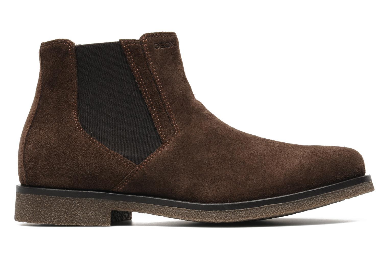 Boots en enkellaarsjes Geox U CLAUDIO G Bruin achterkant