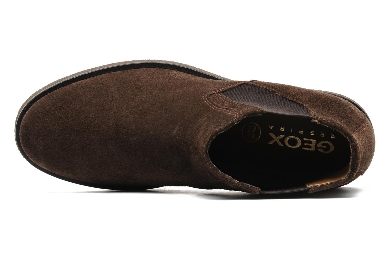 Boots en enkellaarsjes Geox U CLAUDIO G Bruin links