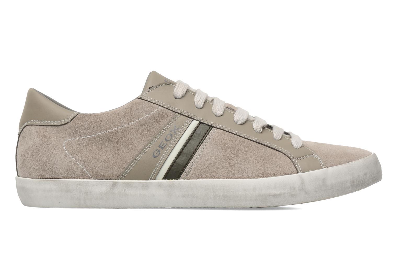 Sneakers Geox U SMART N Grijs achterkant