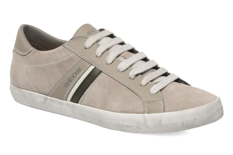 Sneakers Geox U SMART N Grijs detail