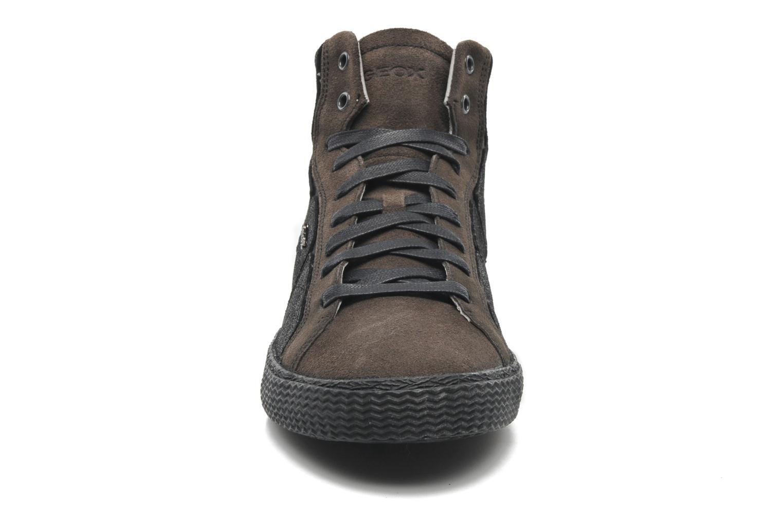 Sneaker Geox U SMART R schwarz schuhe getragen