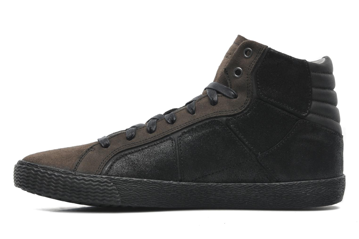 Trainers Geox U SMART R Black front view