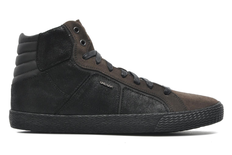Sneaker Geox U SMART R schwarz ansicht von hinten