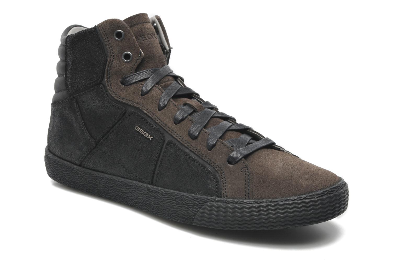 Baskets Geox U SMART R Noir vue détail/paire