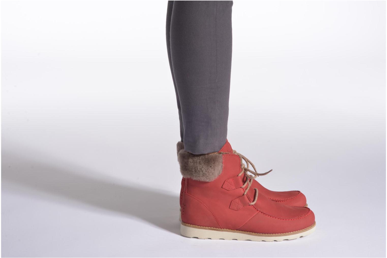 Bottines et boots TBS Ariana Noir vue bas / vue portée sac