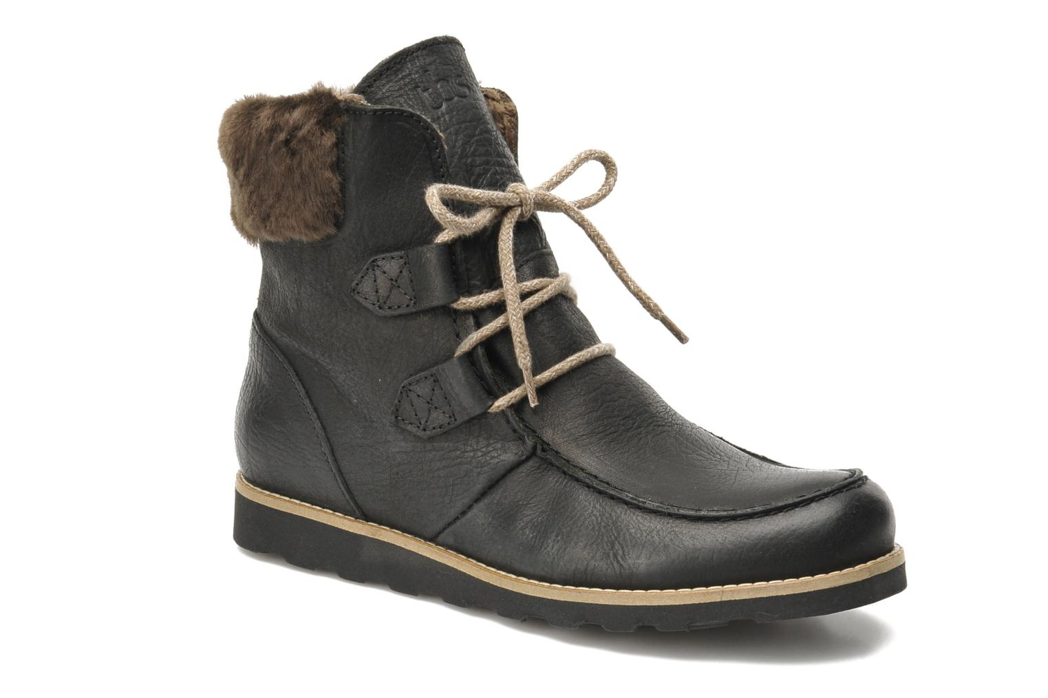 Ankle boots TBS Ariana Black detailed view/ Pair view