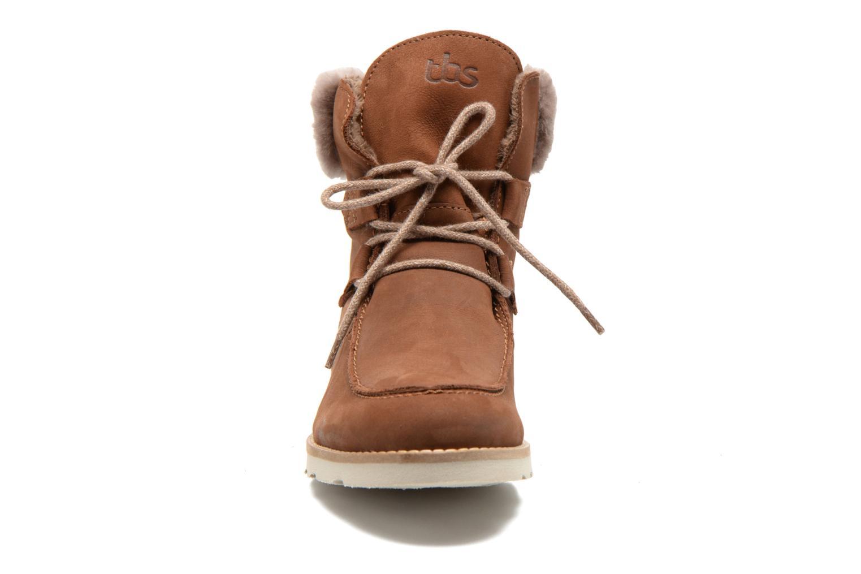Boots en enkellaarsjes TBS Ariana Bruin model