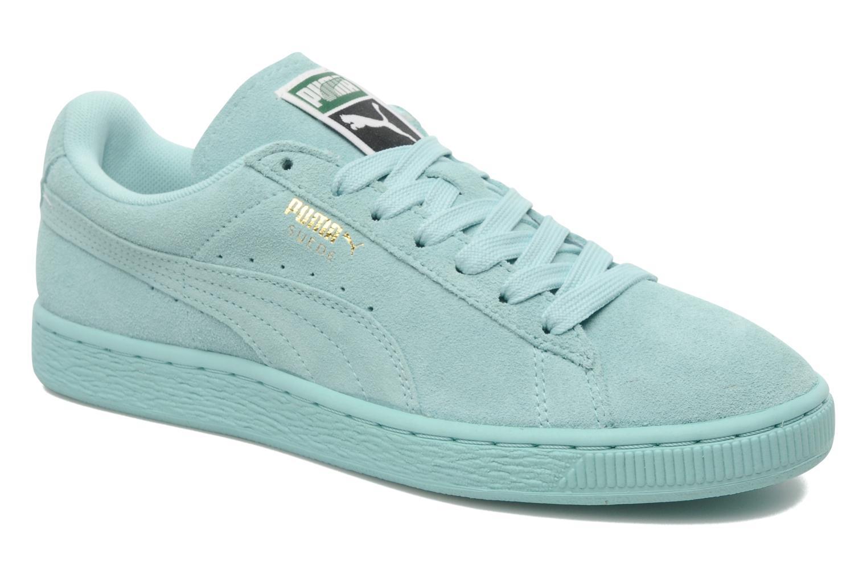 chaussures de sport f2076 30acf puma suede bleu,basket femmes puma suede classic matt shine ...