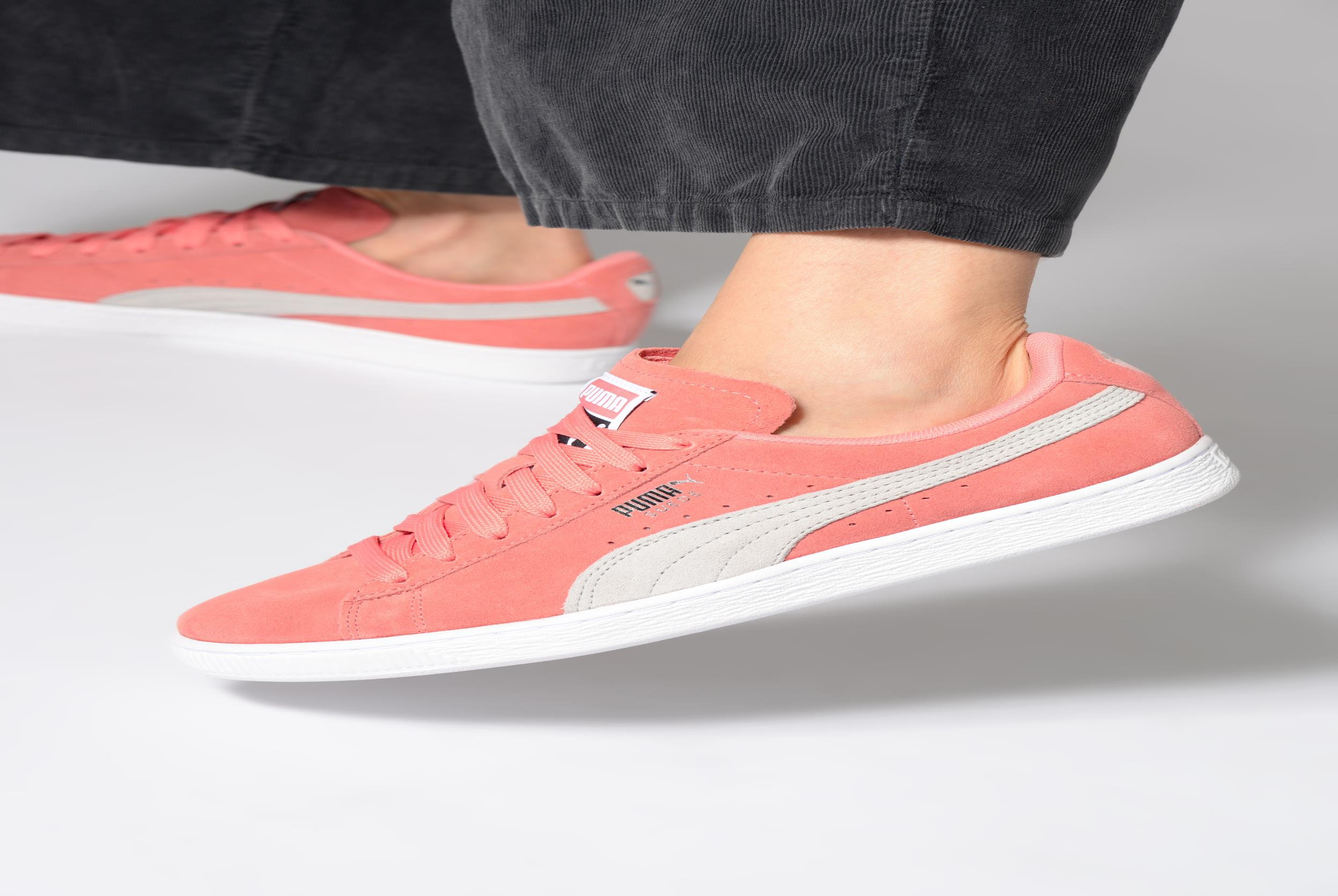 Sneakers Puma Suede Classic Wn's Bordeaux onder