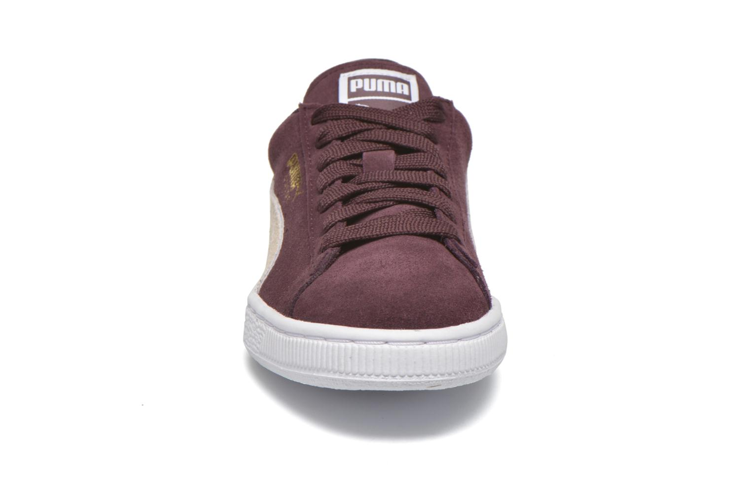 Trainers Puma Suede Classic Wn's Burgundy model view