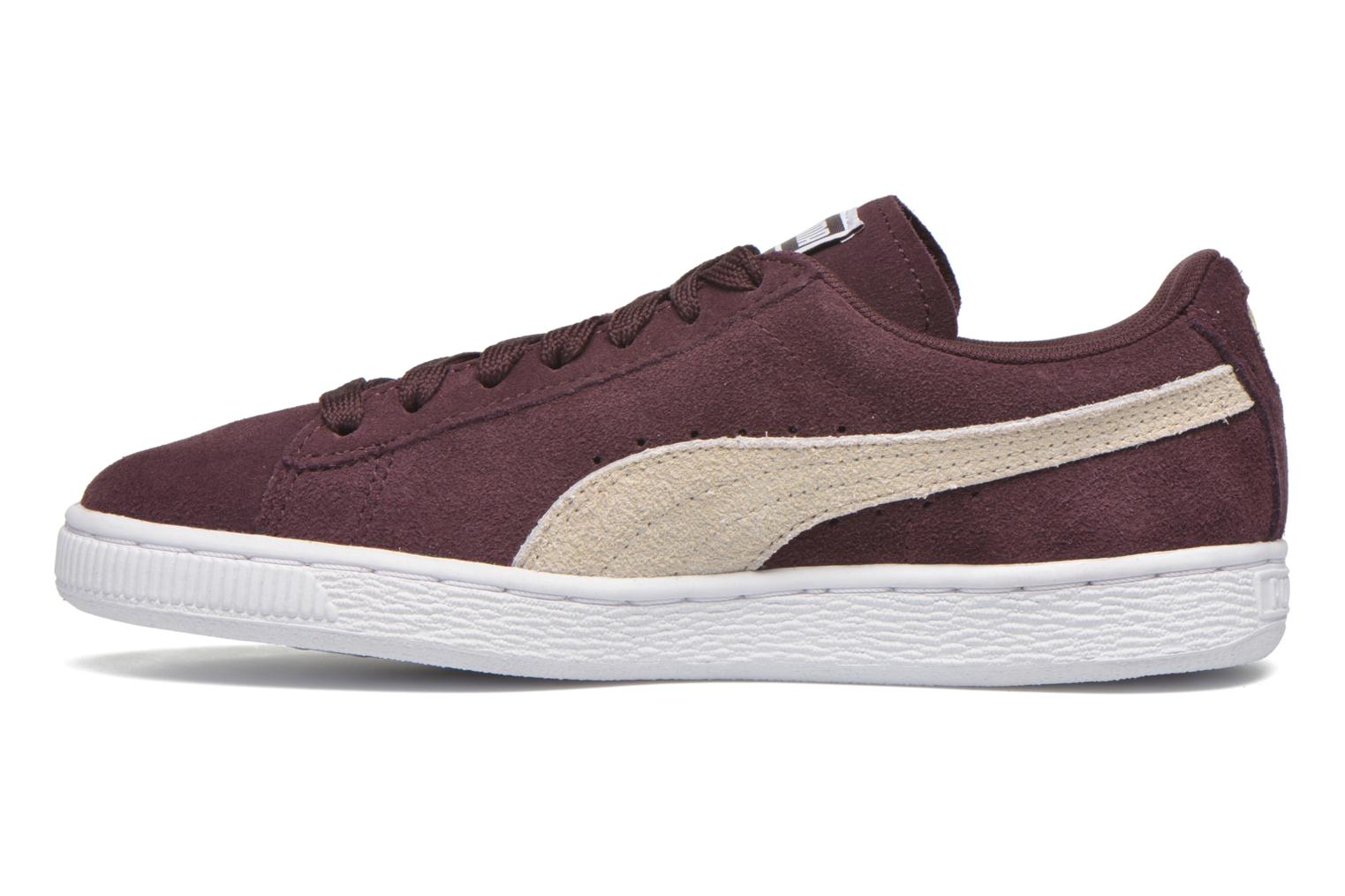 Baskets Puma Suede Classic Wn's Bordeaux vue face