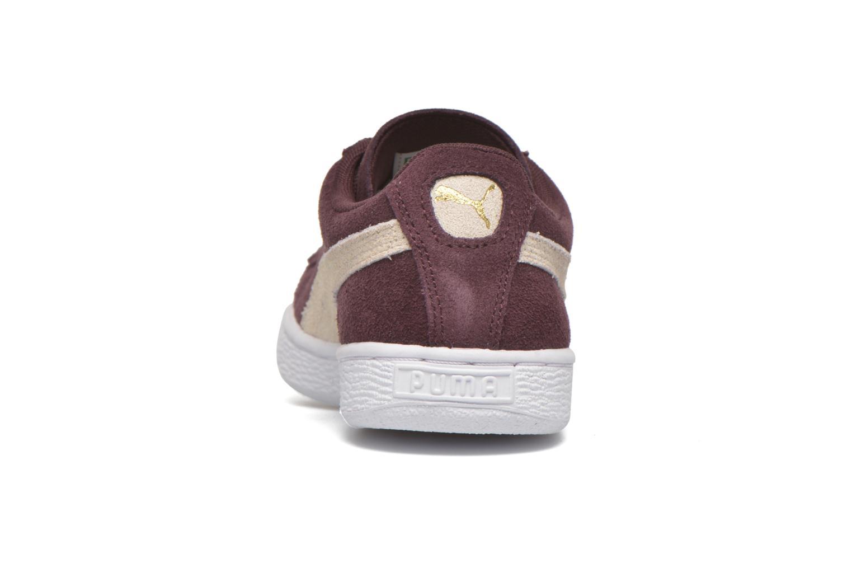 Sneakers Puma Suede Classic Wn's Vinröd Bild från höger sidan