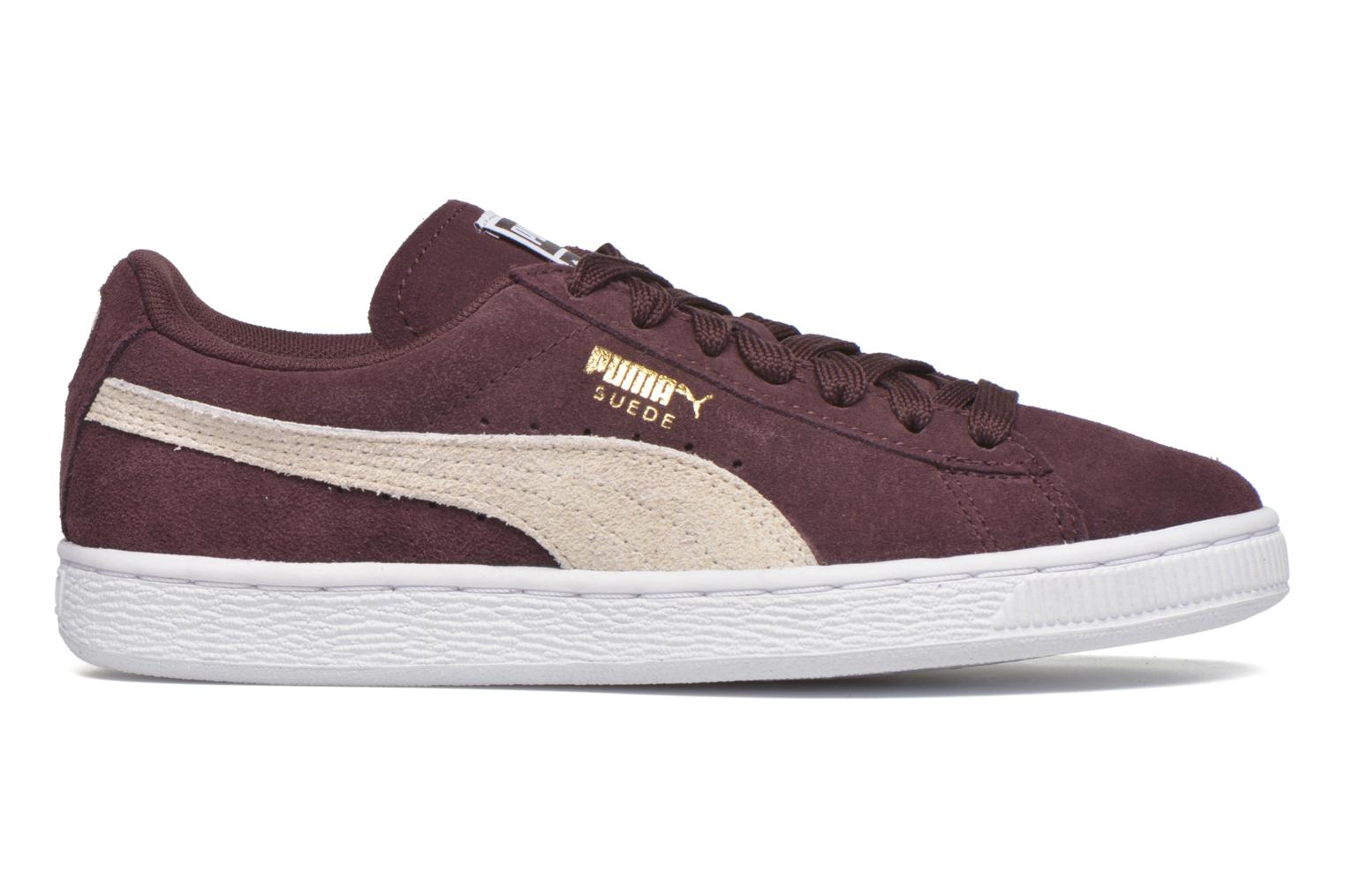 Trainers Puma Suede Classic Wn's Burgundy back view