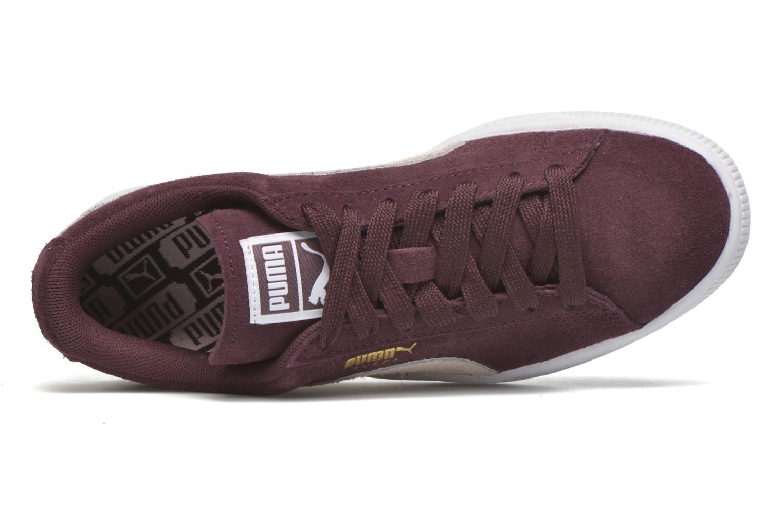 Sneakers Puma Suede Classic Wn's Vinröd bild från vänster sidan