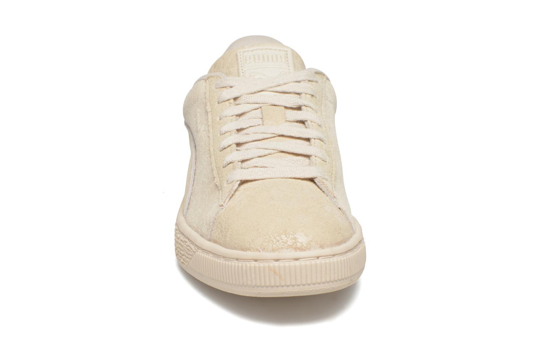 Sneaker Puma Suede Classic Wn's beige schuhe getragen