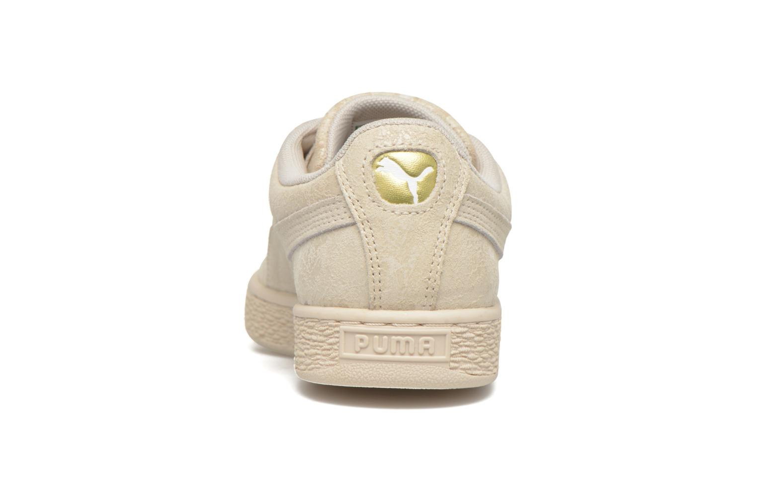 Trainers Puma Suede Classic Wn's Beige view from the right
