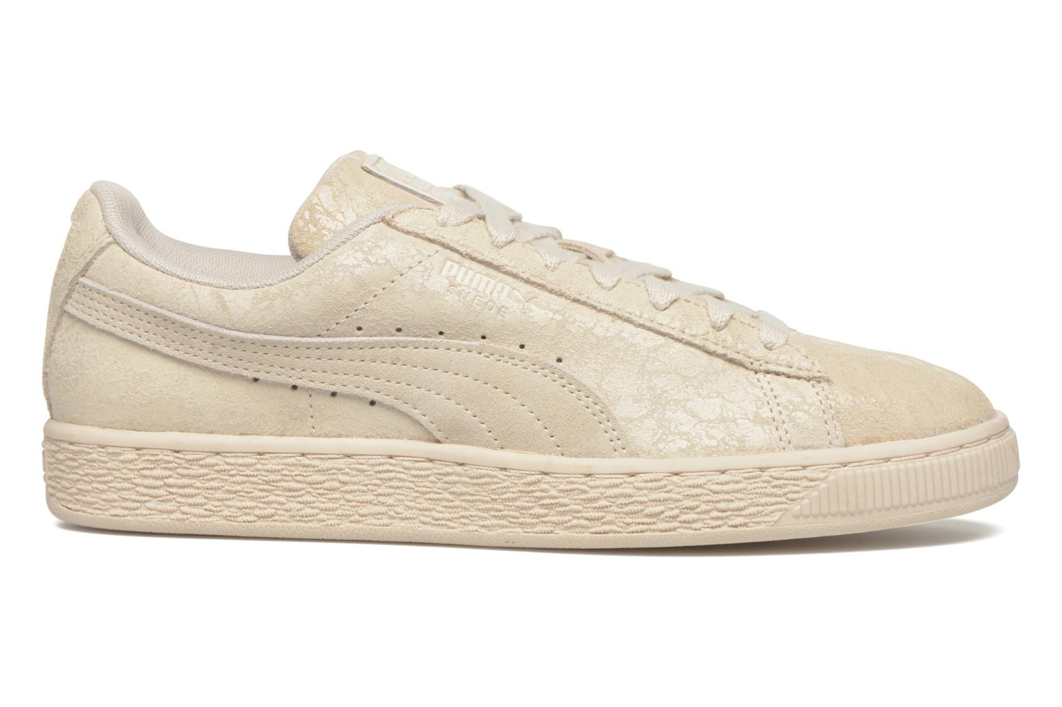 Trainers Puma Suede Classic Wn's Beige back view