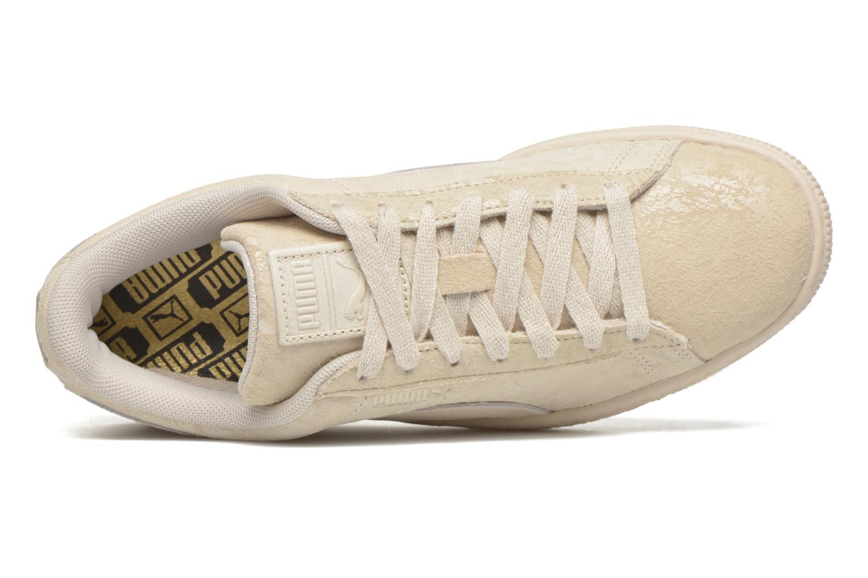 Baskets Puma Suede Classic Wn's Beige vue gauche