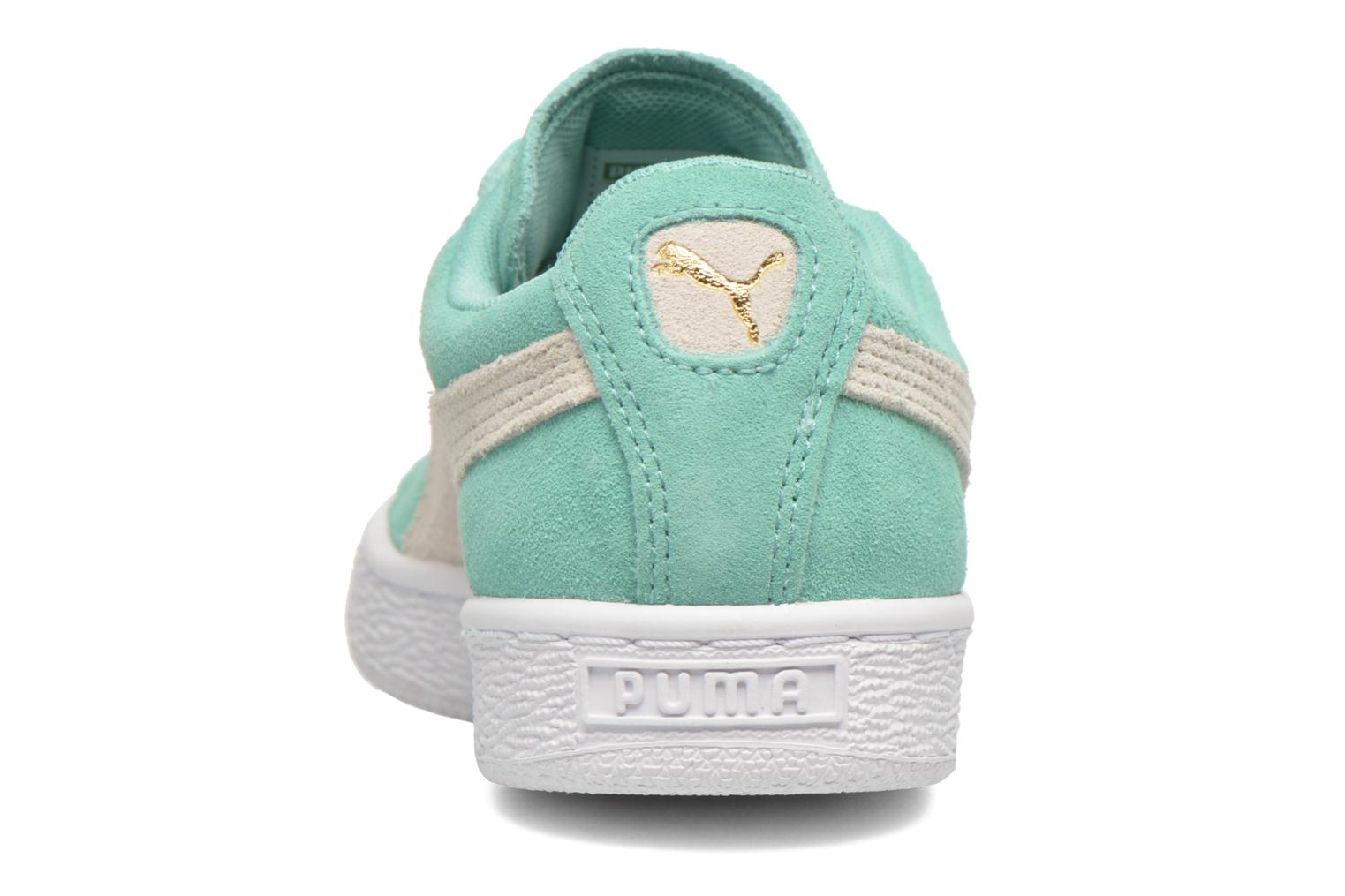 Trainers Puma Suede Classic Wn's Green view from the right