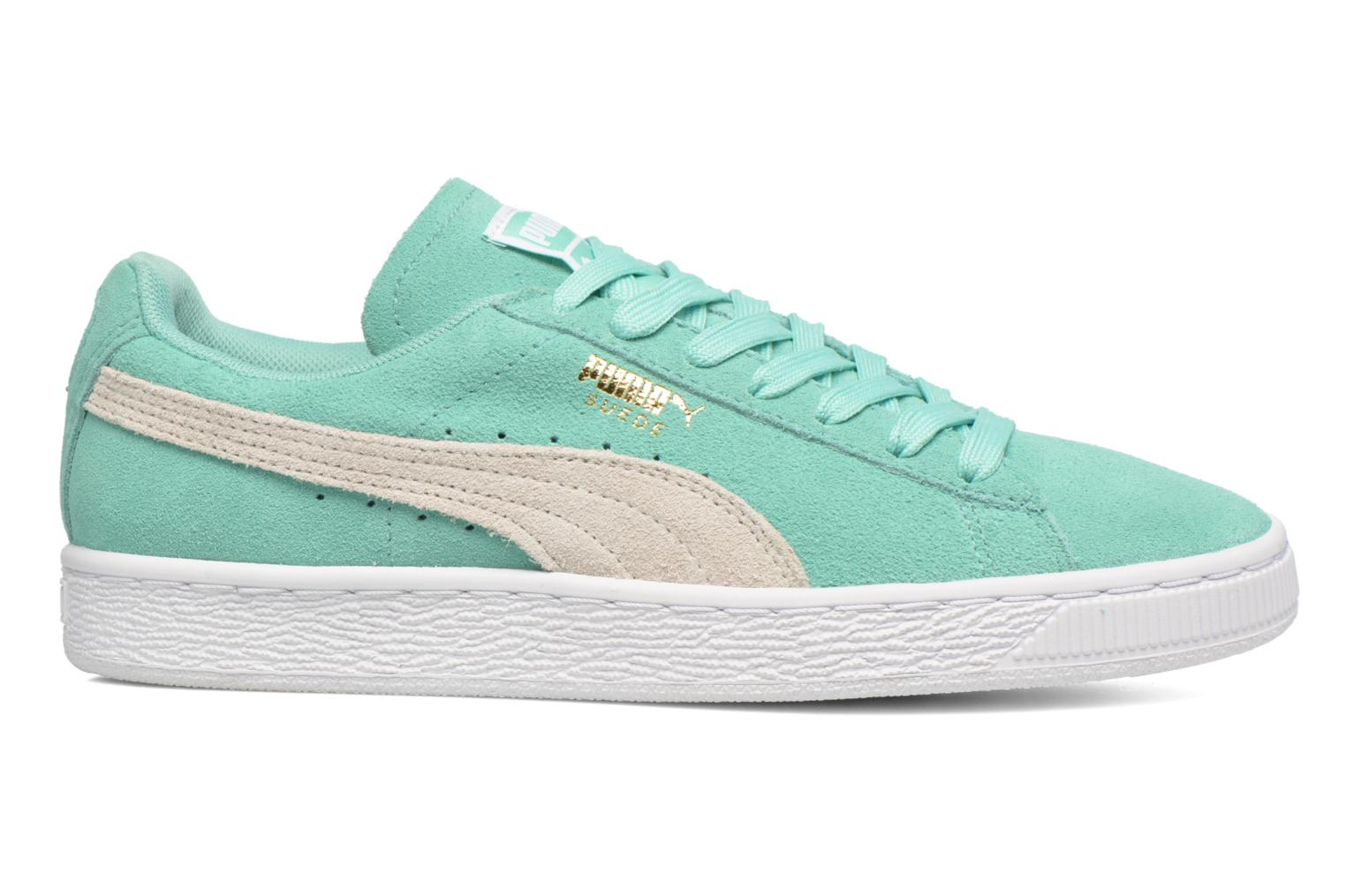 Trainers Puma Suede Classic Wn's Green back view