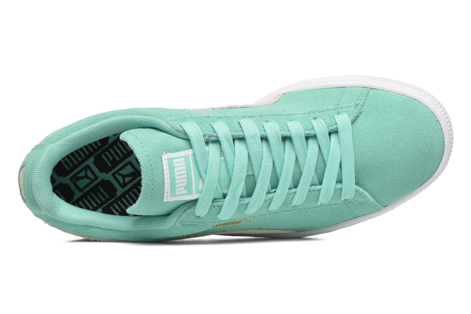 Trainers Puma Suede Classic Wn's Green view from the left