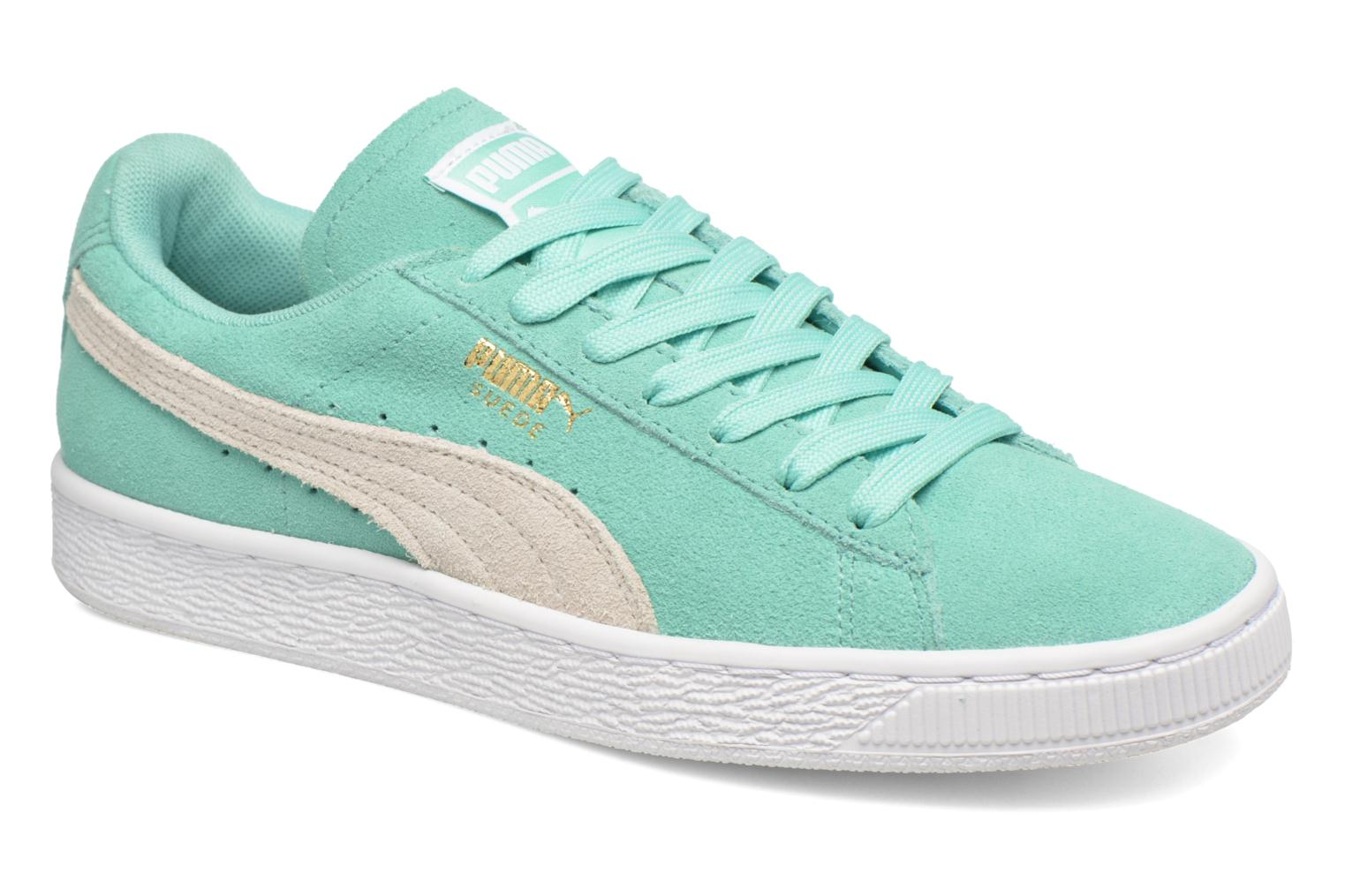 Trainers Puma Suede Classic Wn's Green detailed view/ Pair view