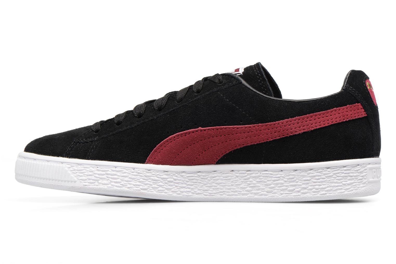 Sneaker Puma Suede Classic Wn's schwarz ansicht von vorne